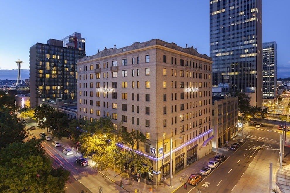 Hotel Andra brings upscale beauty to downtown Seattle