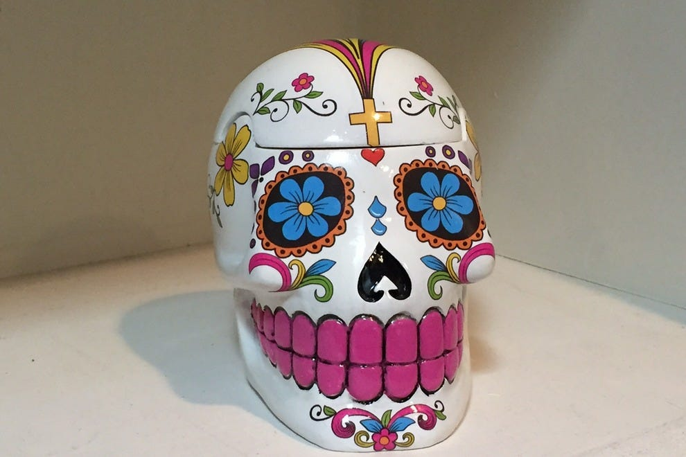 Sugar skull at Fete-ish