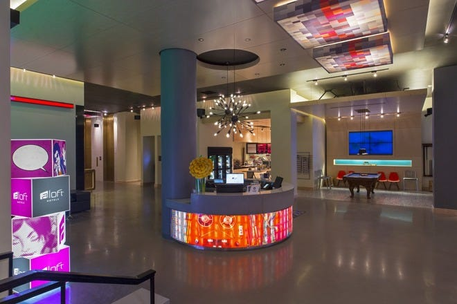 Aloft New Orleans Adds Contemporary Style to the CBD