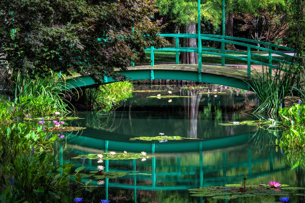 Monet Bridge at the Waterlily Gardens