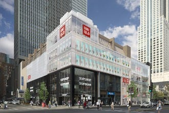 Gigantic Uniqlo Store Debuts in Downtown Chicago