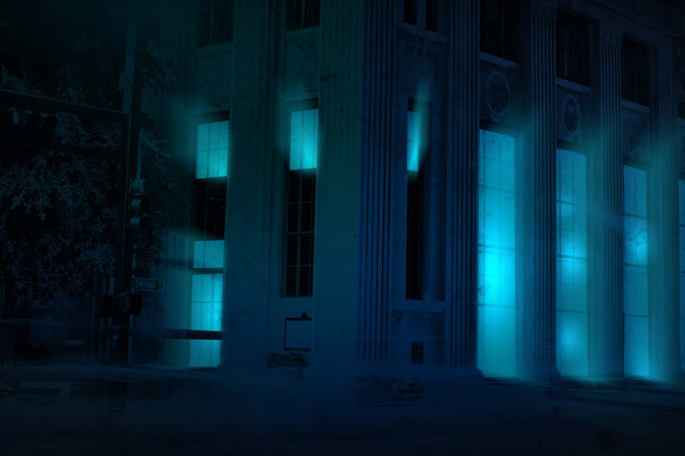 Tampa's Exchange National Bank is the spooky venue for Vault of Souls. Enter only if you dare . . .