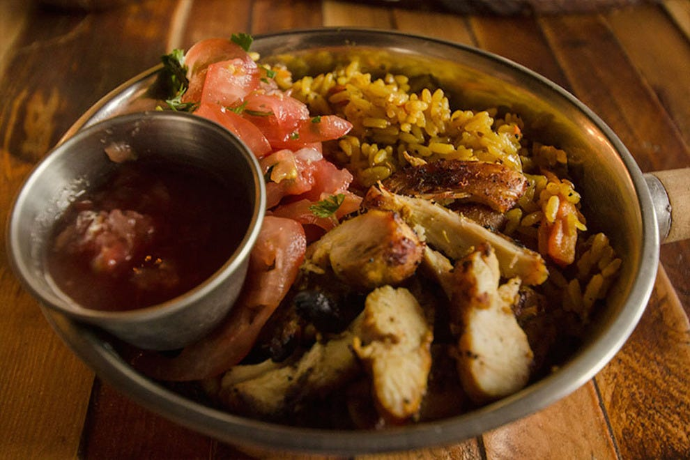 Plov, one of Doma Kitchen's hearty Eastern European offerings