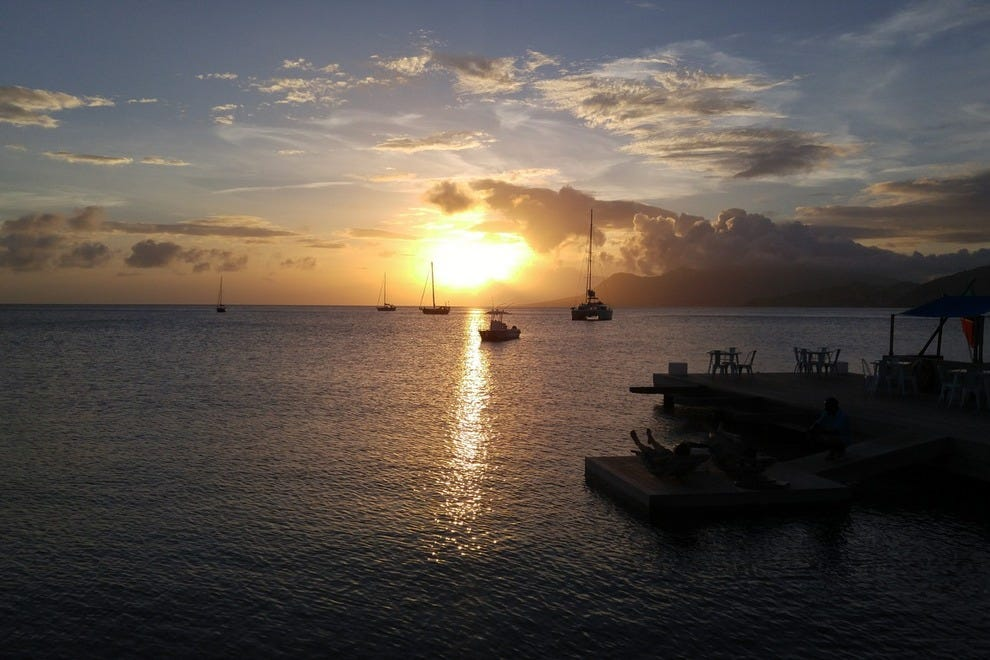 Sunset at Salt Plage, St. Kitts