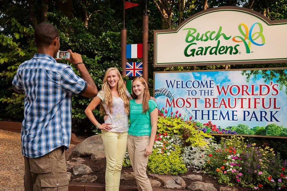 Busch Gardens Williamsburg Williamsburg Attractions