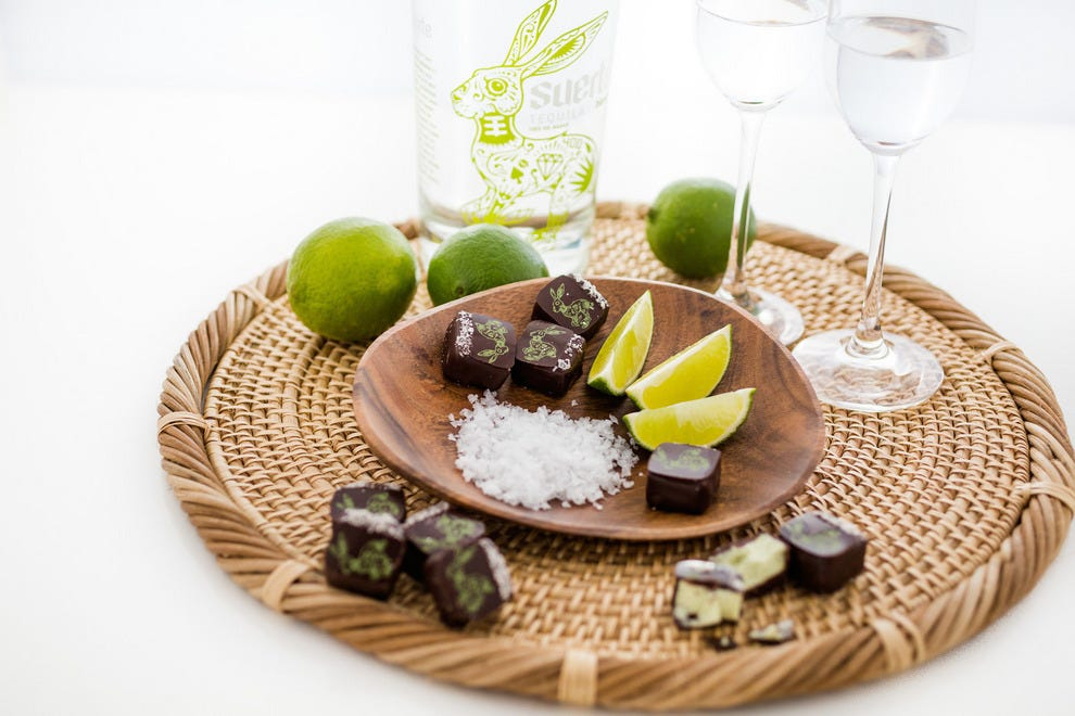 Chocolates made to pair with a variety of drinks and foods