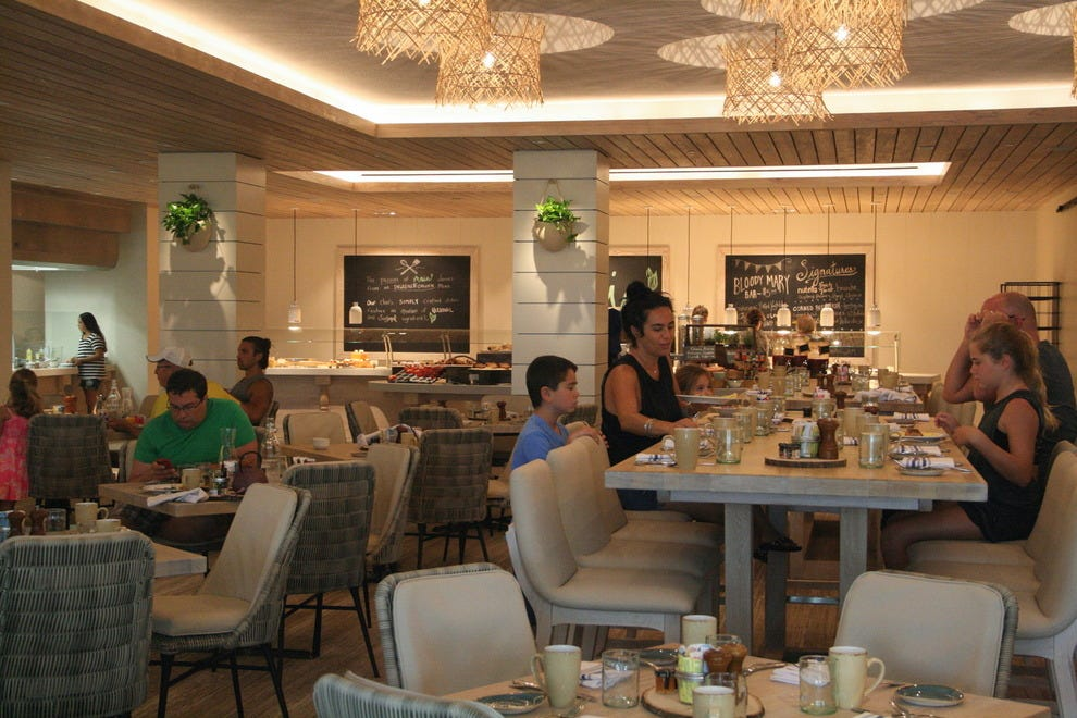 A new look for the Marriott's main restaurant, Maia