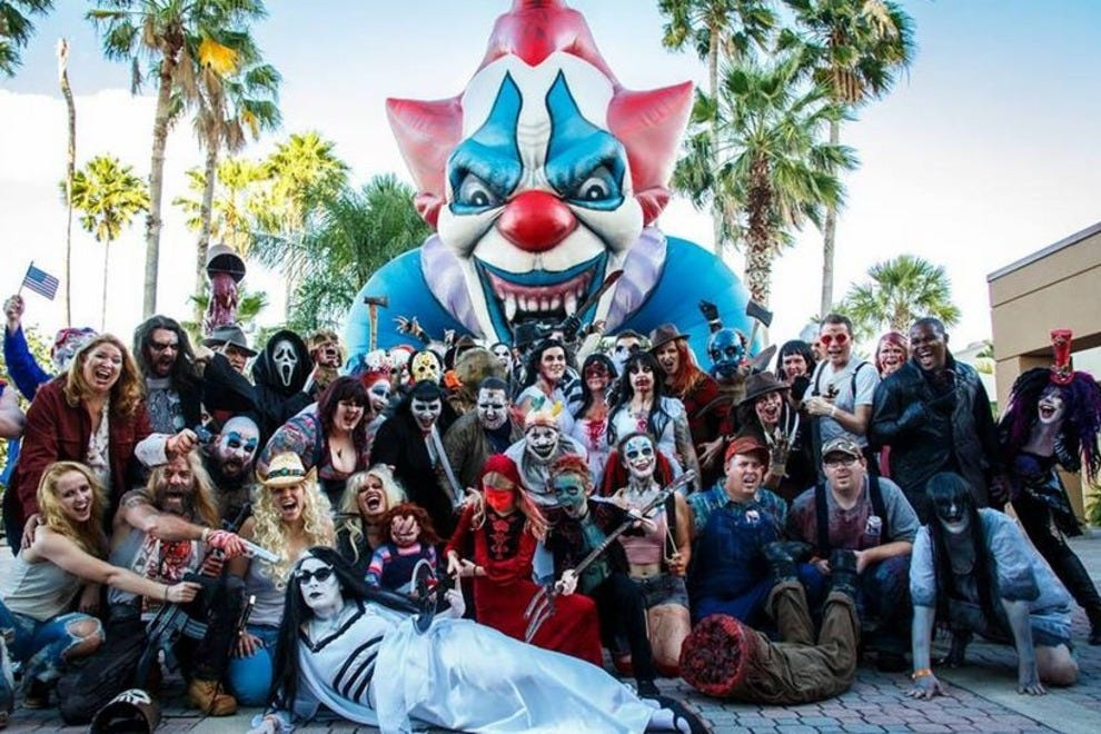 Cosplay FTW! The horror-loving hordes descend on Orlando for Spooky Empire come Halloween weekend.