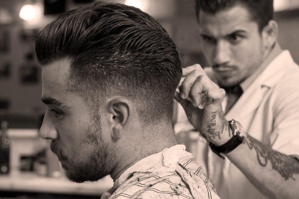 集中研究:菲加罗理发店的平均理发时间是45分钟——要获得真实的发型,必须非常小心。