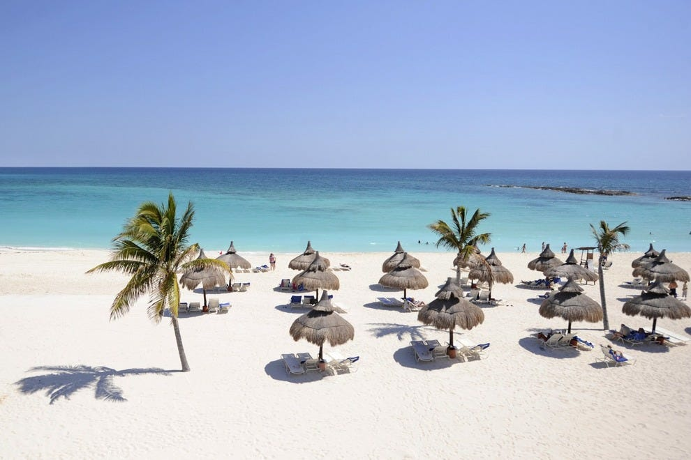 Club Med Cancun Yucatan's dreamy white-sand beach
