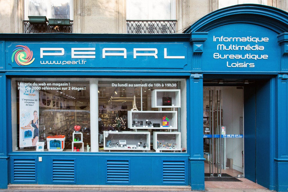 Pearl Magasin Paris