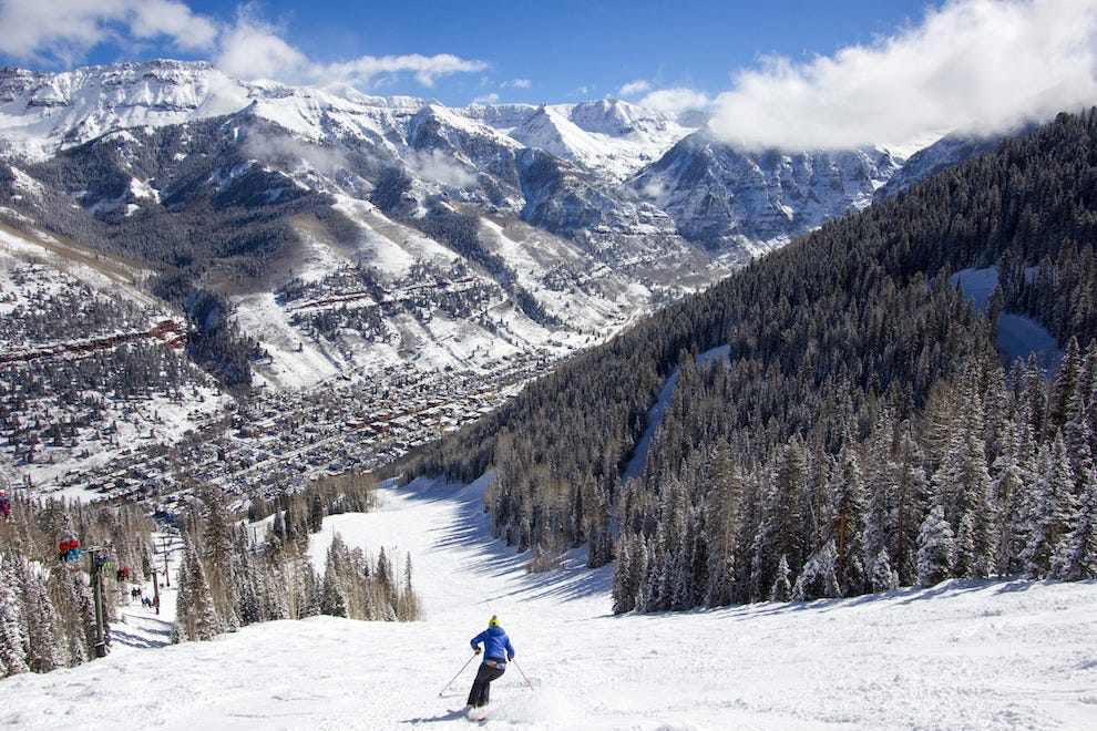 Telluride Ski Resort, Colorado