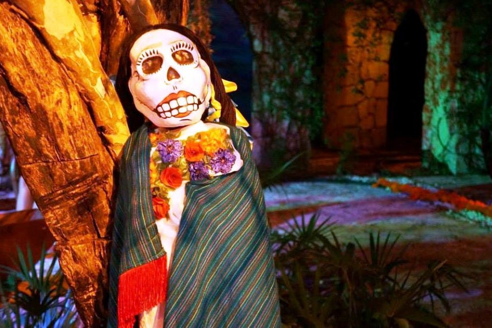 The Xcaret Festival of Life and Death Traditions takes place in late October and early November every year