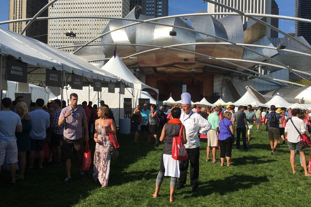 More than 200 chefs were at the 2015 Chicago Gourmet in Millennium Park