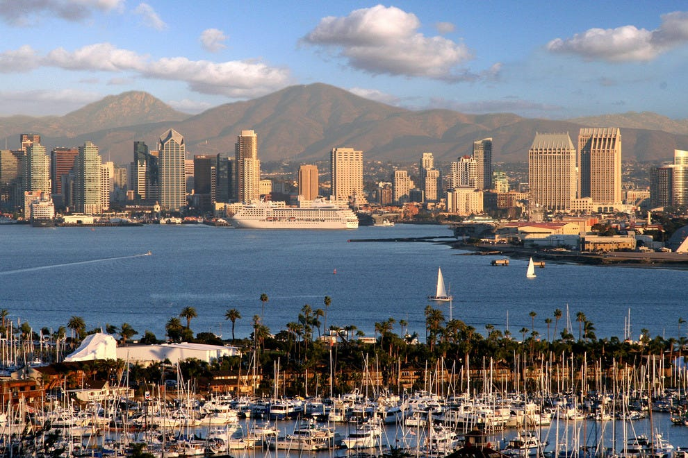 San Diego combines the best of all worlds–proximity to water and mountains