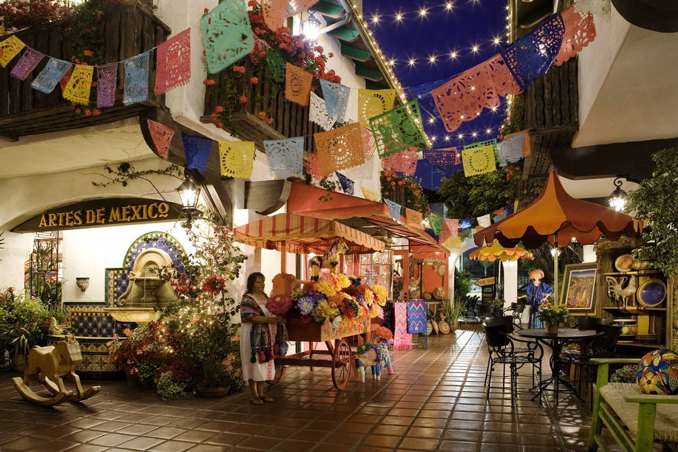 Authentic Mexican shopping in Old Town San Diego