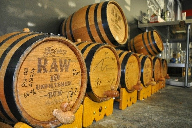 Key West First Legal Rum Distillery
