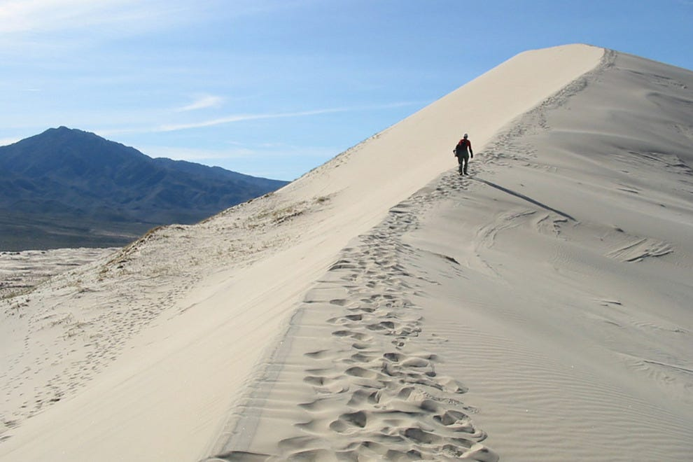 "The ""singing"" Kelso Dunes of the Mojave"