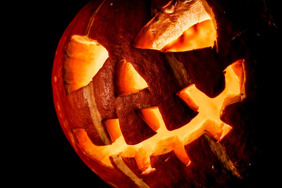 Jack o'lanterns were not originally made from pumpkins