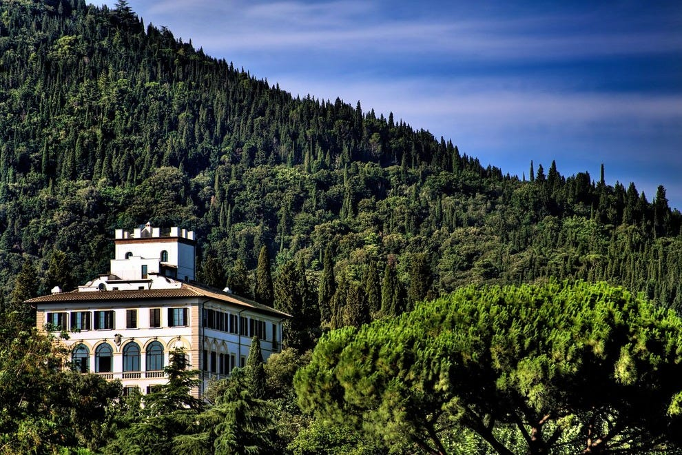 Il Saviatino on the Tuscan hills of Italy