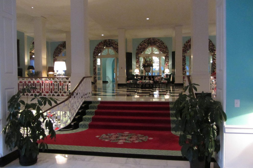 Inside the Greenbrier