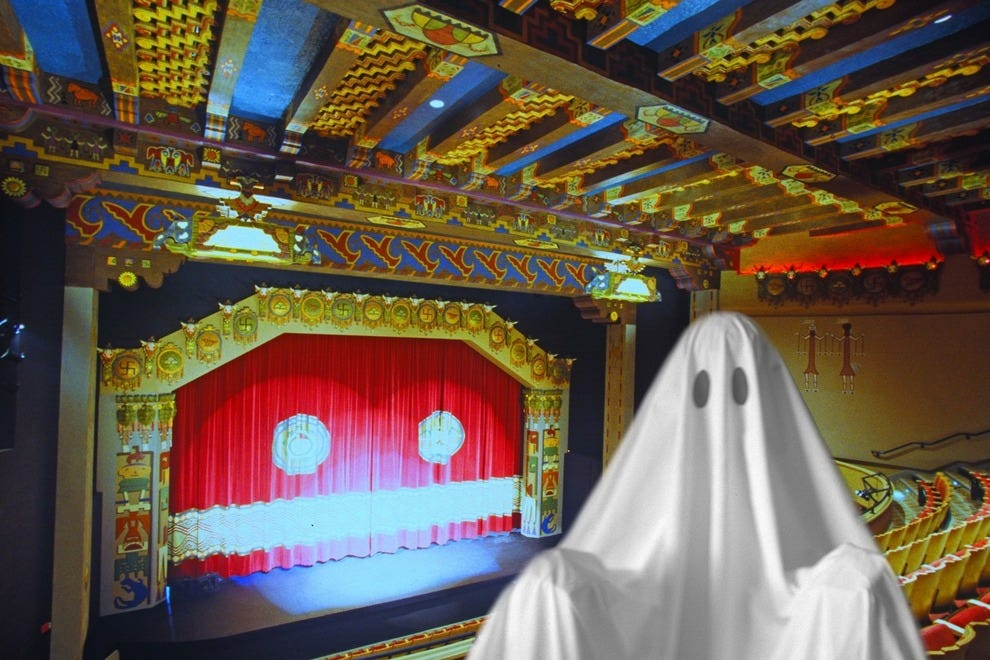 Ghost at the KiMo Theater?