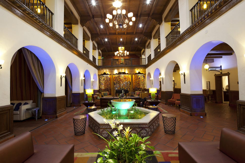 Lobby of Hotel Andaluz