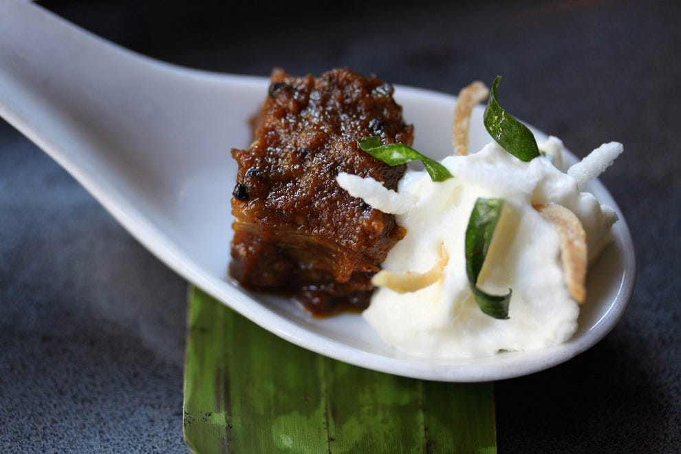 This pairing from ChoLon Modern Asian Bistro's chef won the 2012 Pairsine competition