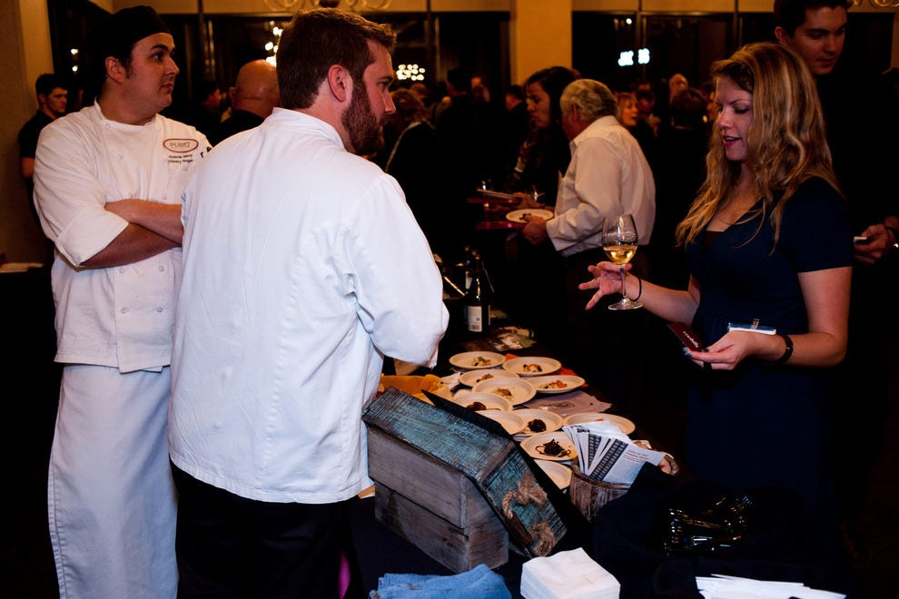 During the Pairsine event, attendees have a chance to interact with the competing chefs