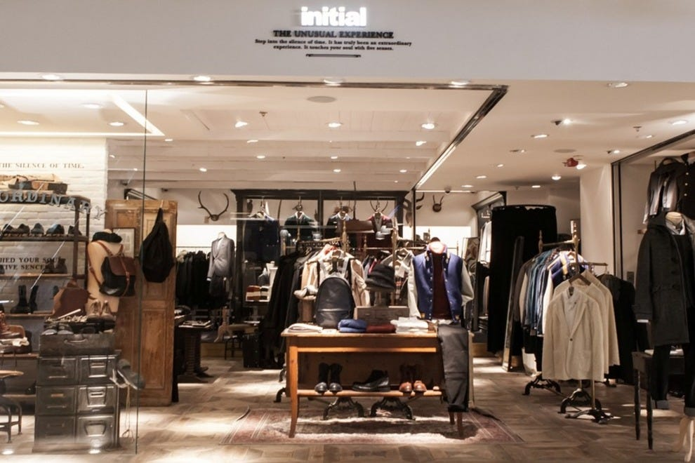 Initial is one of Hong Kong's prime home-grown boutiques