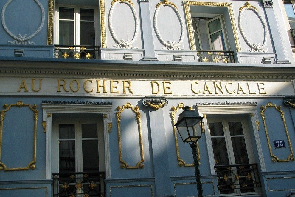 Au Rocher de Cancale