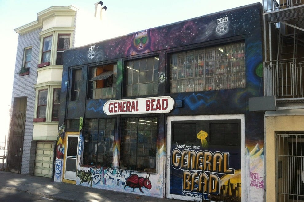 Meet General Bead. It only gets better inside!