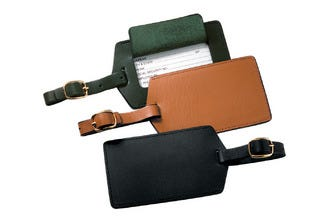 Personalized Royce Nappa Leather Luggage Tags