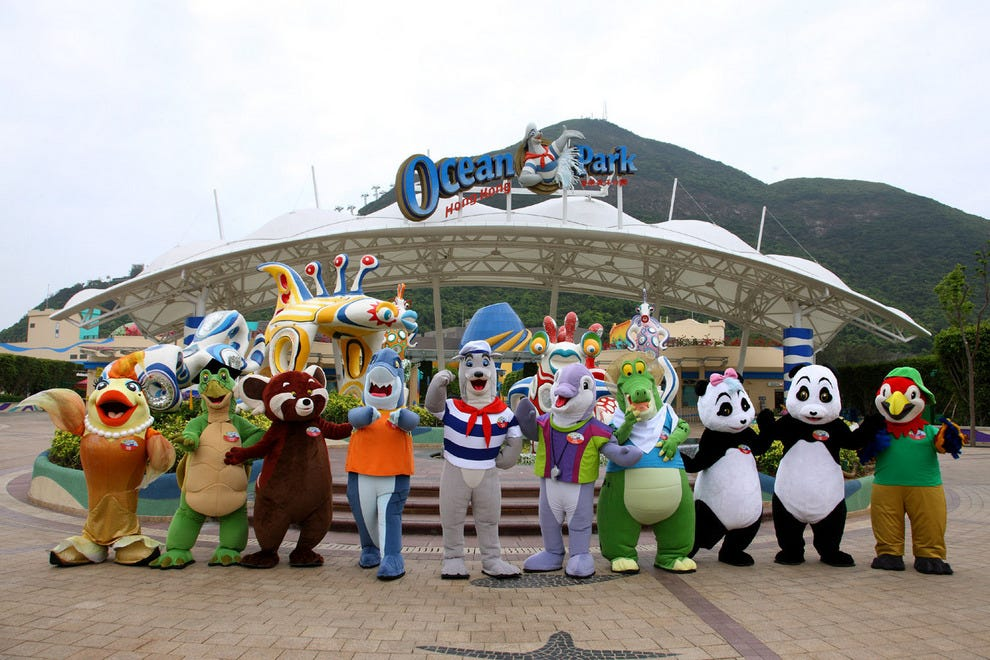 It's always non-stop fun at Ocean Park in Hong Kong
