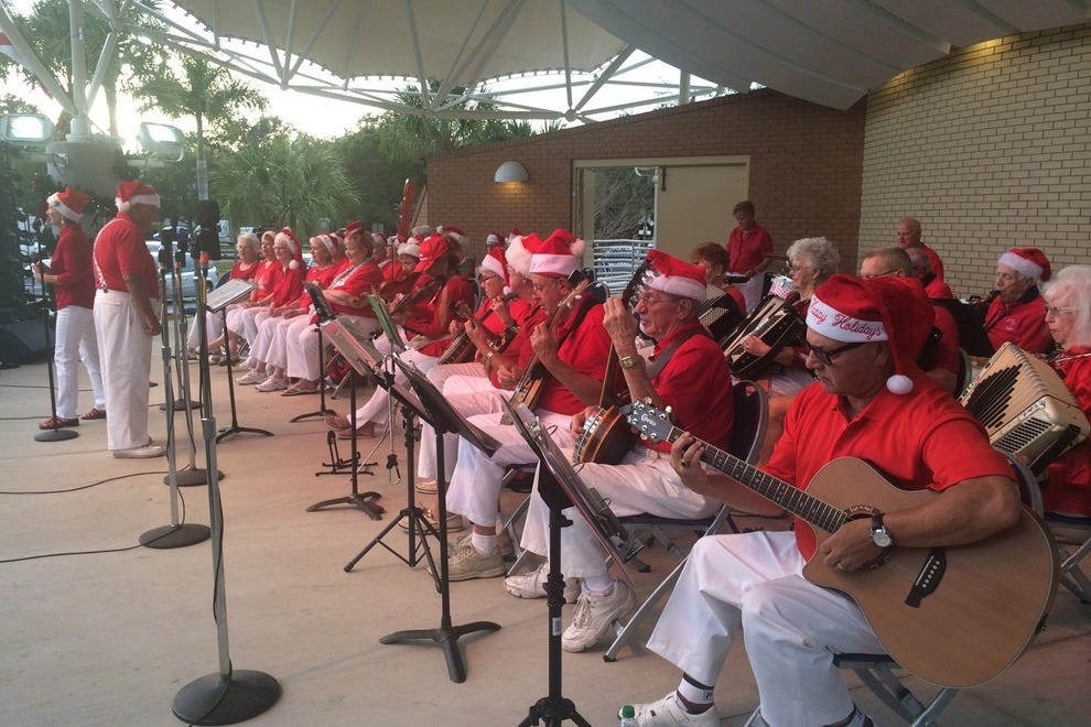 The Bonita Village Band kicks off the show every year