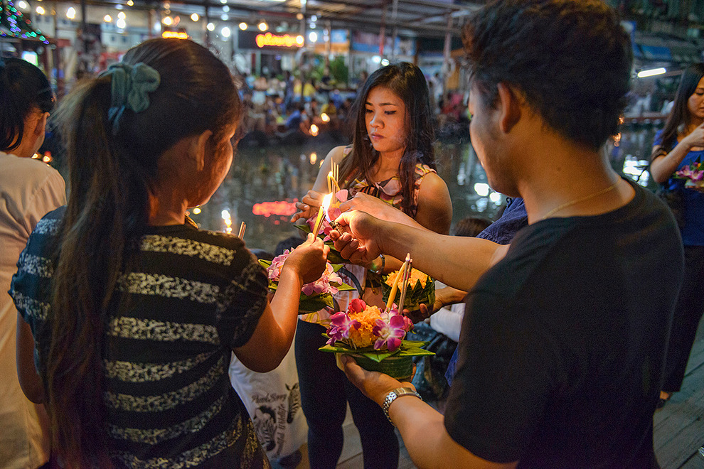 Loy Krathong is Bangkok's festival of lights