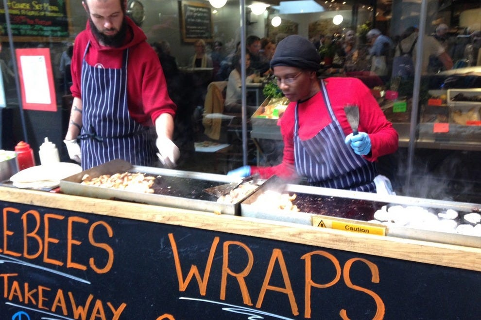 Borough Market vendors fill the air with enticing aromas