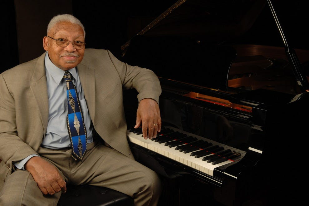 Jazz pianist Ellis Marsalis