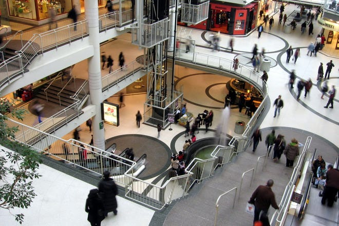 Shopping Malls and Centers in Toronto