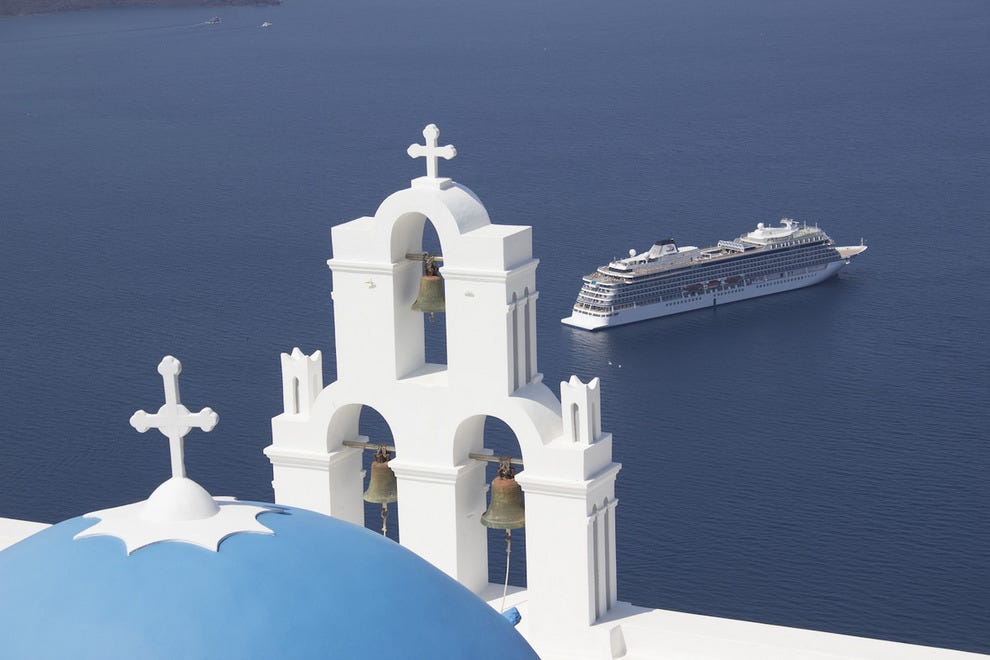 Viking Star cruise to Santorini