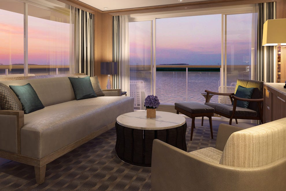 Viking River Cruise suite