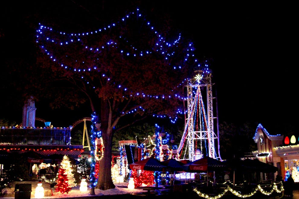 Holiday in the Park at Six Flags