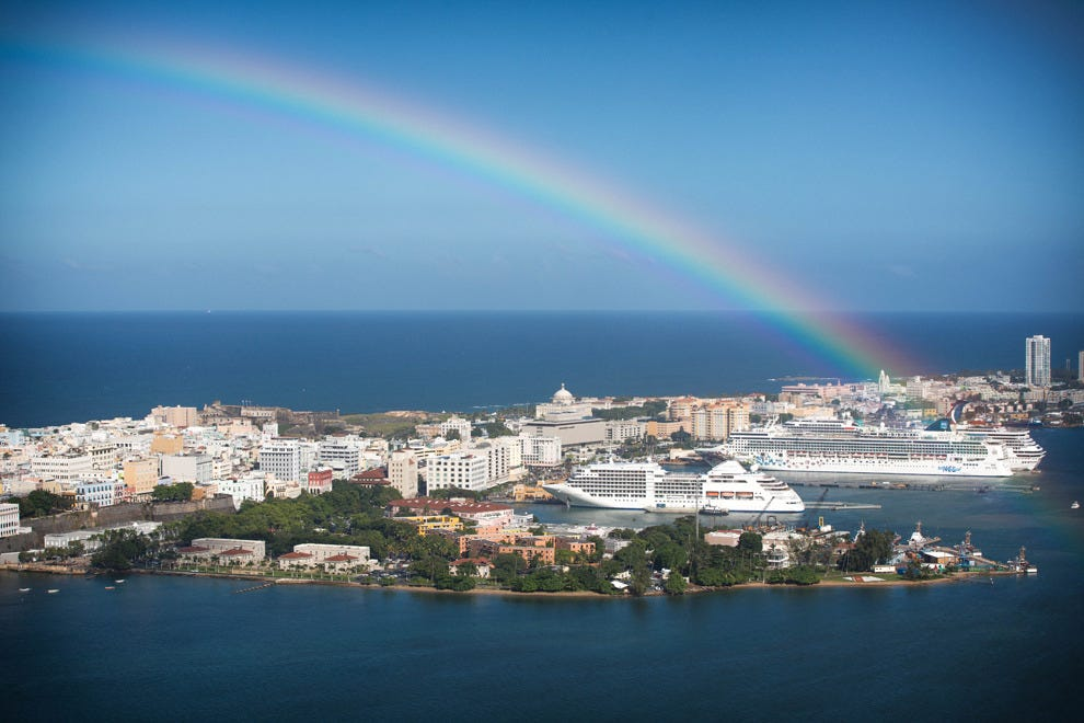 Start your Caribbean cruise from the Old San Juan port