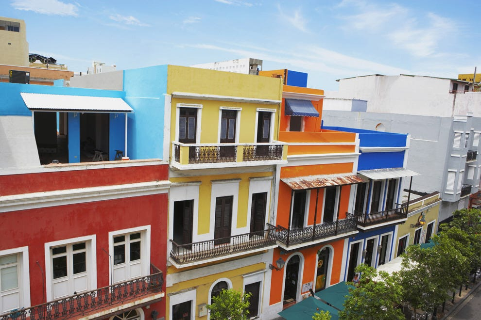 Take advantage of winter weather on the streets of Old San Juan