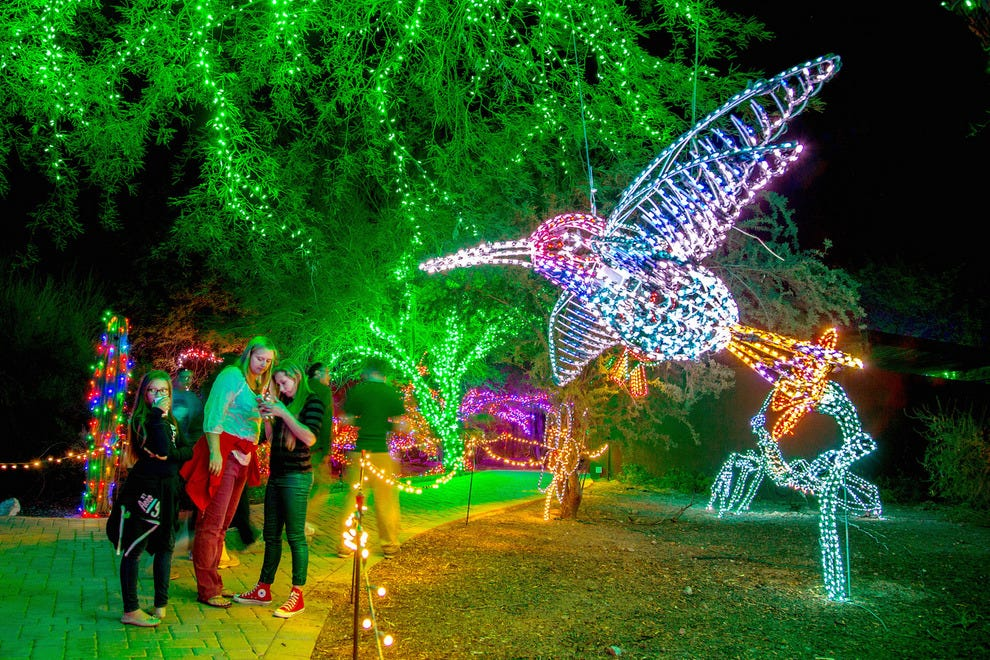 Best Zoo Lights Winners 2015 10Best Readers' Choice Travel Awards - Phoenix Zoo Christmas Lights