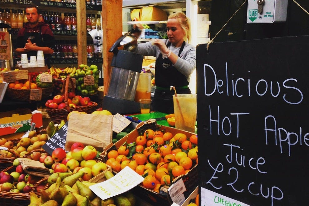 Relish the smells and tastes of Borough Market