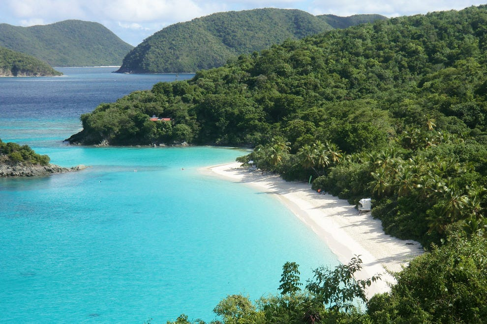 Hawknest Bay in St. Johns, U.S. Virgin Islands