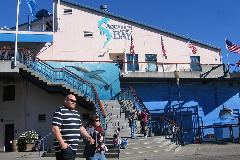 Aquarium of the Bay on Pier 39 in San Francisco