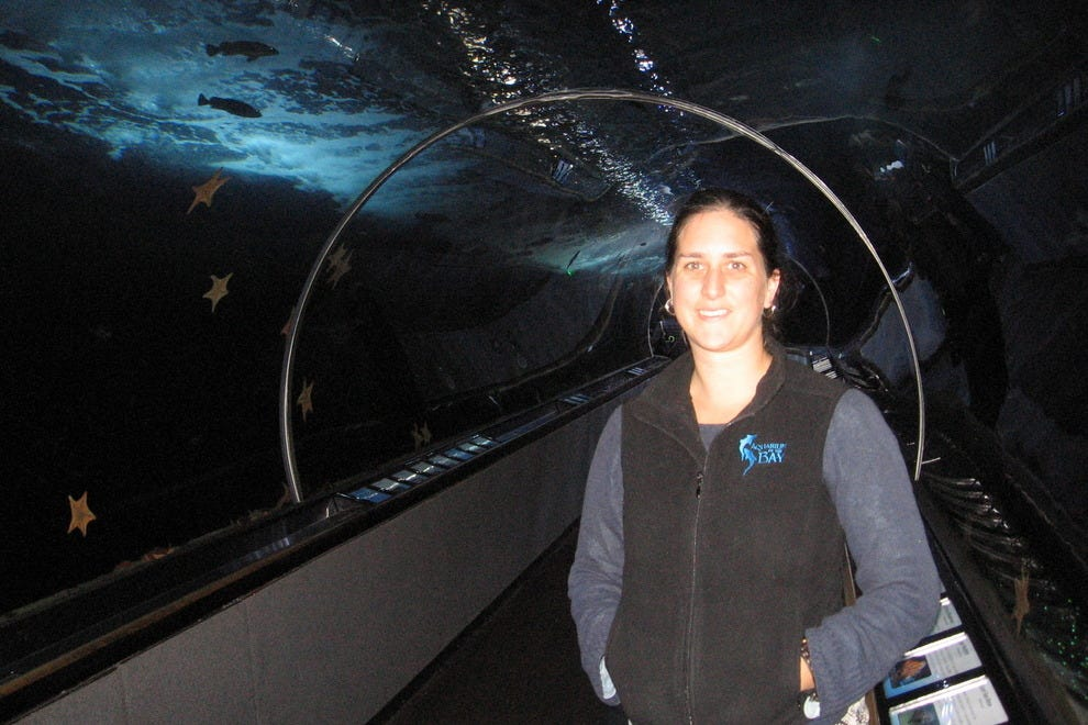 Sonja Gomez, Education Manager of the Aquarium of the Bay