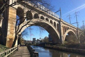 Walk, run or ride over Philadelphia's revitalized Manayunk Bridge